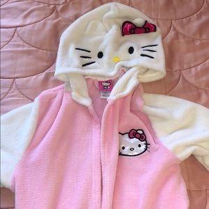 Hello kitty kids robe